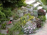 Beton a betonové výrobky - svahové tvárnice